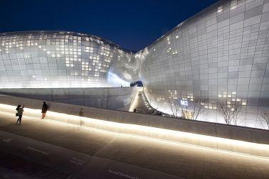 Dongdaemun Design Plaza in Seoul, South Korea, 2014