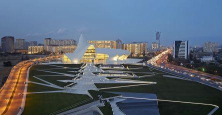 Heydar Aliyev Cultural Centre in Baku, Azerbaijan, 2012