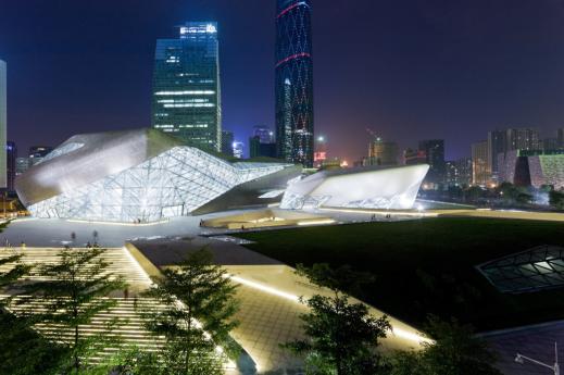 Guangzhou Opera House in Guangzhou, China, 2010