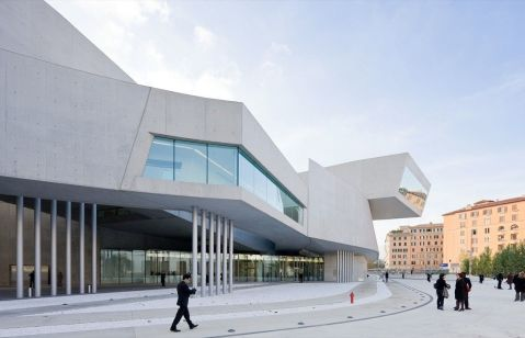 MAXXI National Museum of the 21st Century Arts in Rome, Italy, 2010
