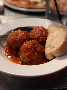 Random picture of meatballs from Bavarro's!